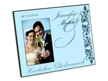1 Bilderrahmen Hochzeit
