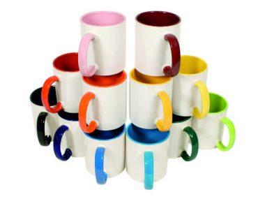 3 Tassen Stapel